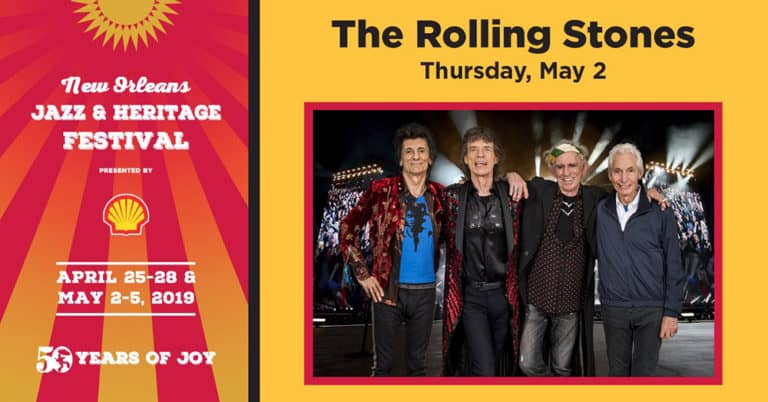 The Rolling Stones To Perform At New Orleans Jazz Fest