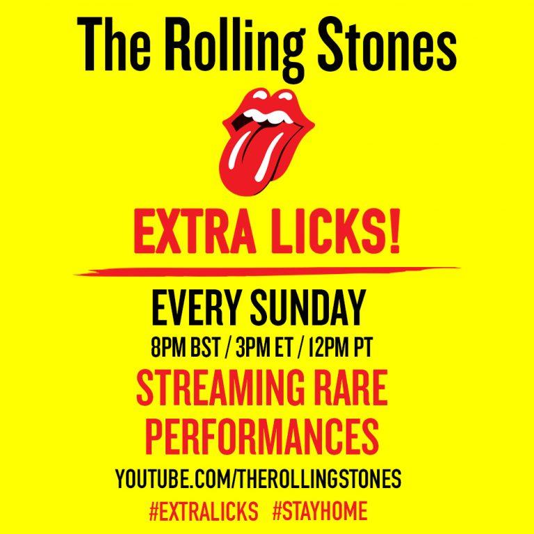 Stones Announce Extra Licks!